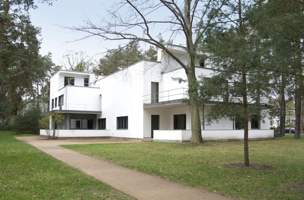 Das Bauhaus in Dessau ist für alle Fans von Kunst, Architektur und Design im Jubiläums-Jahr 2019  ein Top-Reiseziel: die Meisterhäuser. Foto: Yvonne Tenschert/Stiftung Bauhaus Dessau