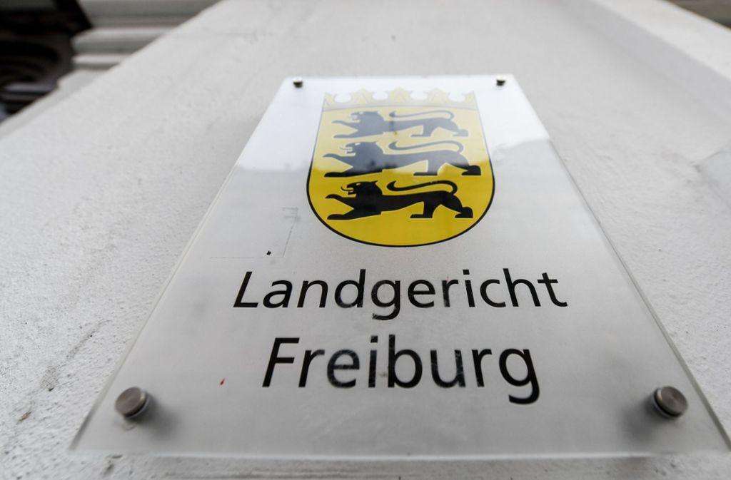 Das Landgericht Freiburg steht wieder vor einem prominenten Mordprozess. Foto: dpa