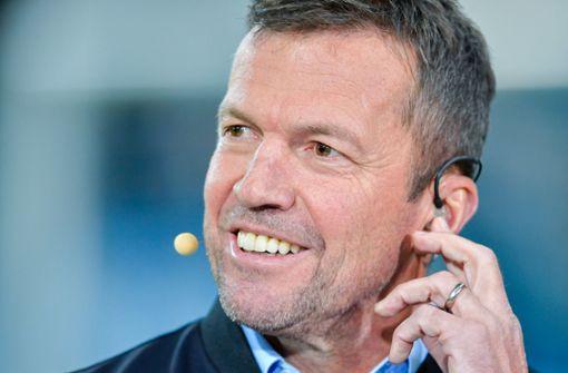 Lothar  Matthäus will mit Bundestrainer Kaffee trinken