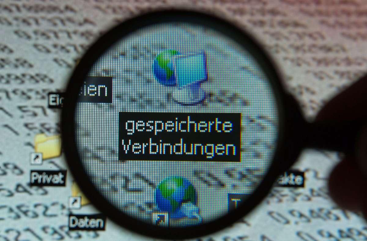 Der Europäische Gerichtshof verbietet pauschale Vorratsdatenspeicherungen. (Symbolbild) Foto: dpa/Jens Büttner