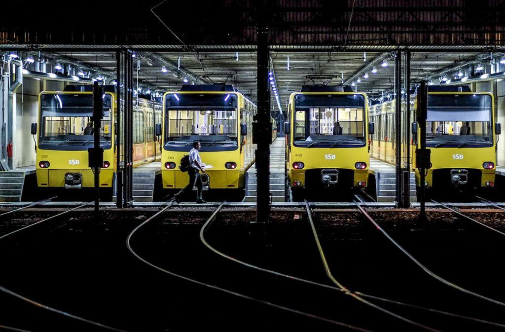 Der Fuhrpark der SSB soll wachsen, um das Streckennetz ausweiten und neue Linien anbieten zu können. Foto: Lichtgut/Leif Piechowski