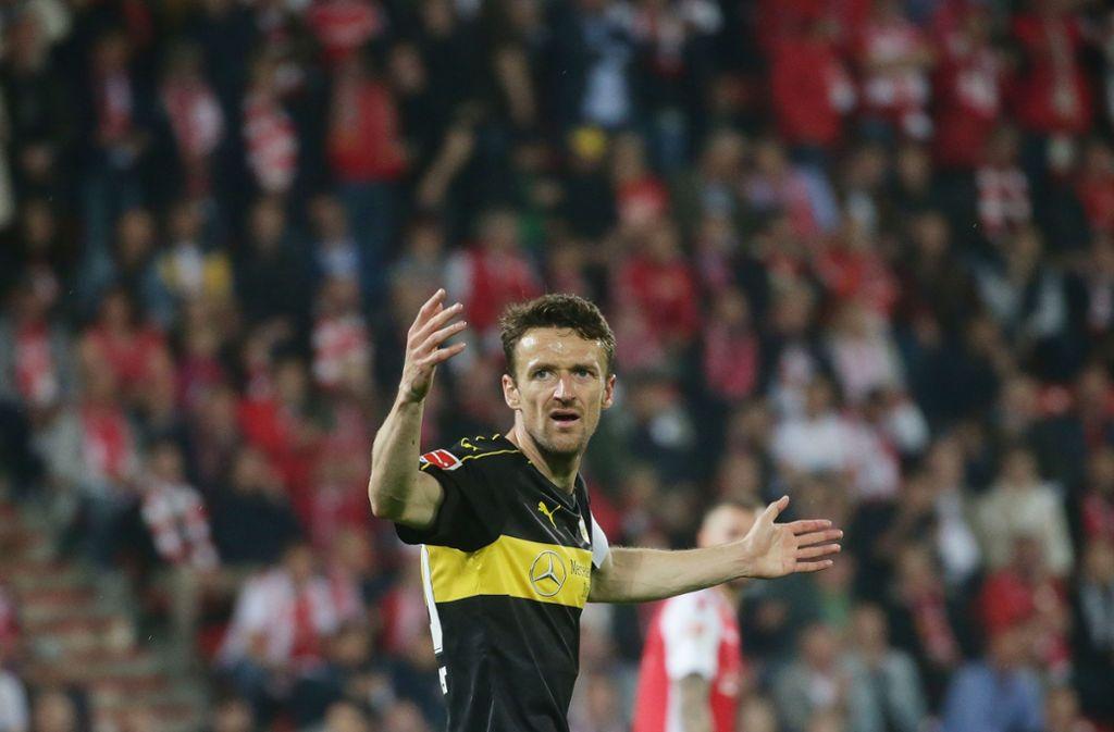 Christian Genter findet, dass beim VfB Stuttgart nicht alles richtig gelaufen sei. Foto: Pressefoto Baumann