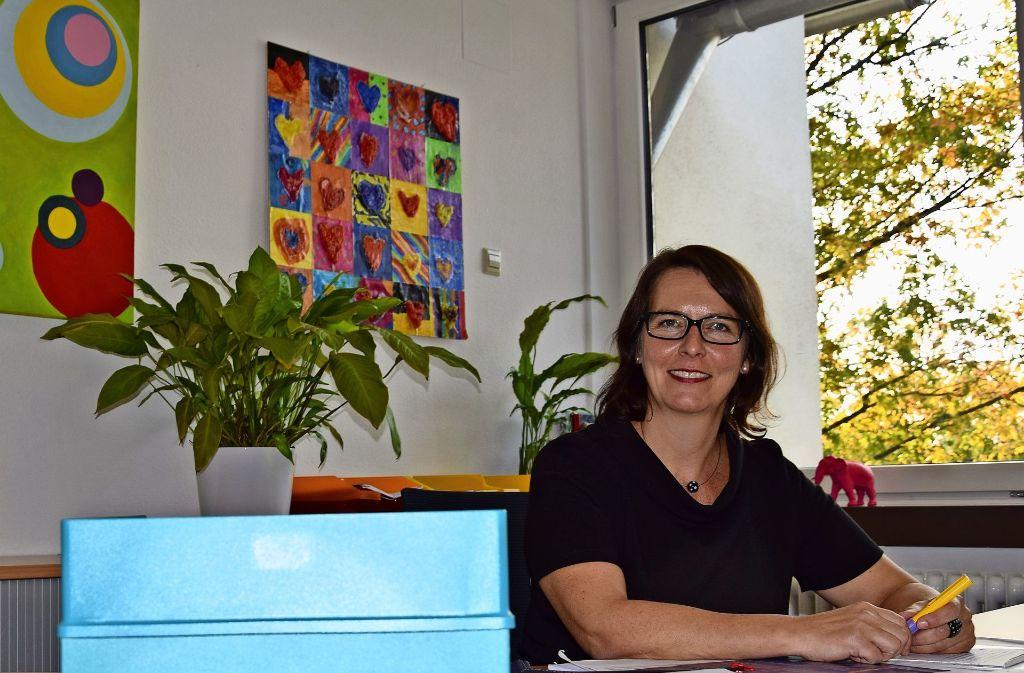 Silke Plaas möchte die Grund- und Werkrealschule weiter voranbringen. Foto: A. Kratz