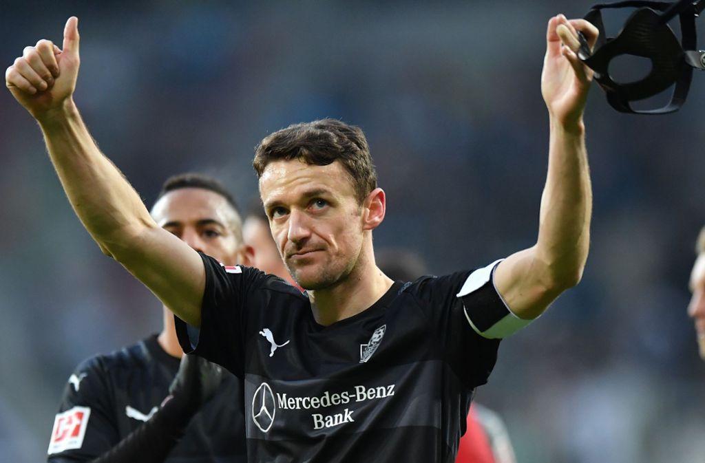 Christian Gentner ist beim VfB Anführer und Teamplayer in Personalunion. Foto: Bongarts