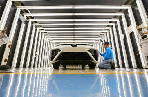 Japans Autoindustrie fährt leise vorneweg
