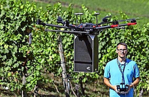 Helfen Drohnen bald in der Landwirtschaft?