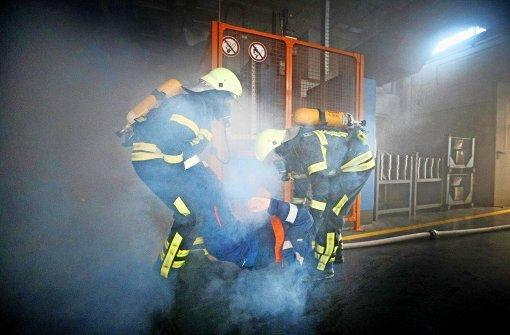 Falls es brennt ist die Feuerwehr nicht weit