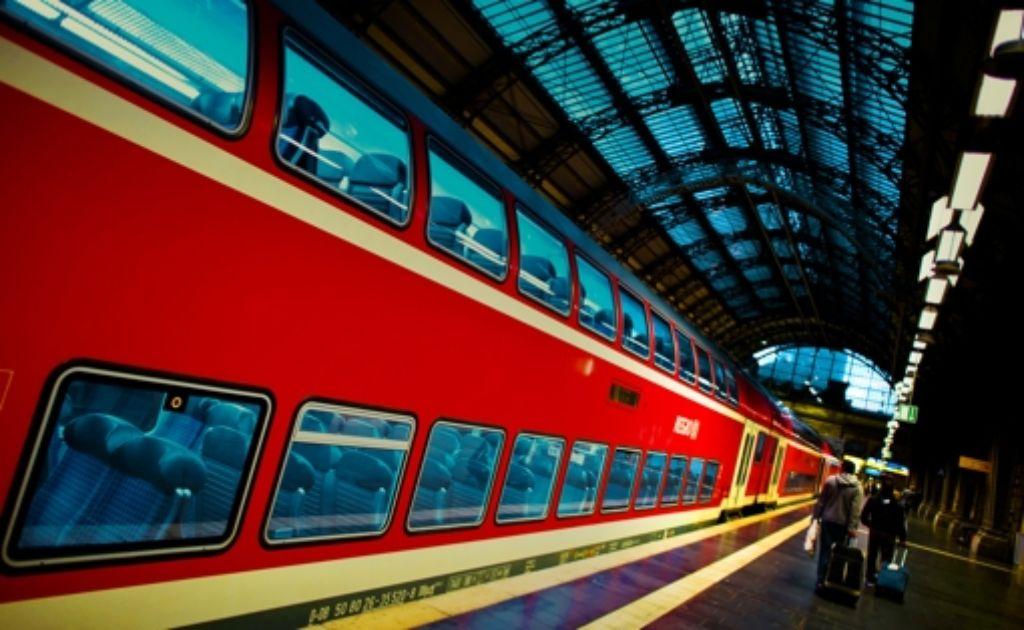 """Verkehrsverbände sprechen von """"einem guten Tag für alle Bahnfahrer"""". Foto: dpa"""