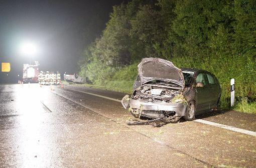 Verkehrsunfall mit drei Schwerverletzten