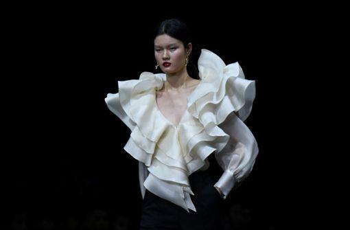 Designer präsentieren in Peking neue Kollektionen
