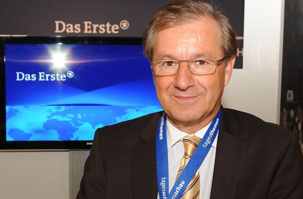 Jan Hofer ist seit vielen Jahren Moderator der Nachrichtensendung Tagesschau. Foto: dpa/Jens Kalaene