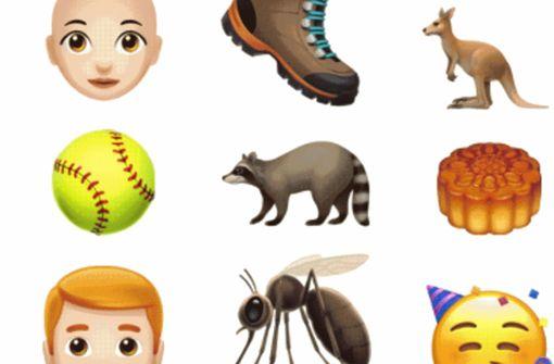 Waschbär, Wollknäuel und Besen: 70 neue Emojis bei Apple