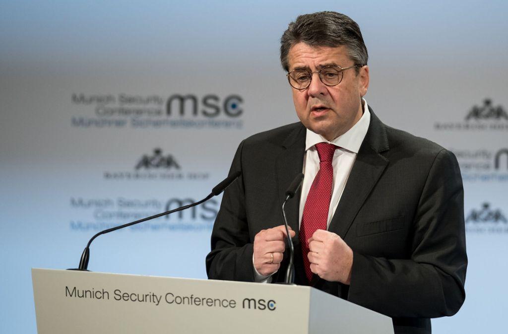 Sigmar Gabriel kann nach Ansicht unserer Kolumnistin eigentlich nicht länger Außenminister der Bundesrepublik Deutschland. Foto: dpa