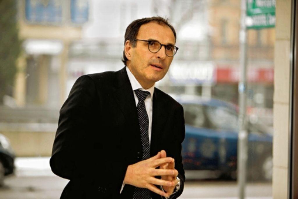 Andreas Renner muss vor dem CDU-Wahlparteitag einen Dämpfer hinnehmen. Foto: Steffen Honzera