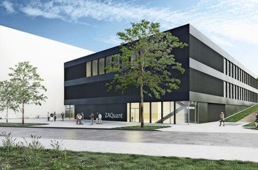 Universität baut  ein neues Forschungszentrum