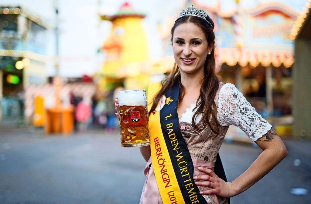 Bierkönigin, na denn Prost! Foto: dpa