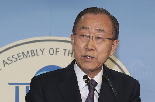 Ban will nicht südkoreanischer Präsident werden