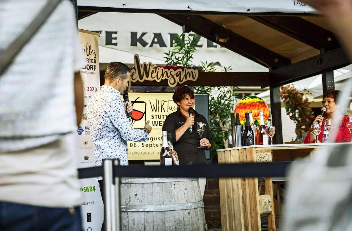 """2020 war das """"Wirtuelle Weindorf"""" unter Pandemiebedingungen gefeiert worden. Diesmal wird das Konzept erweitert. Foto: Lichtgut/Julian Rettig"""