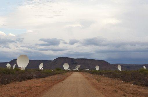 """""""Für Radioastronomie muss man  nach Afrika"""""""
