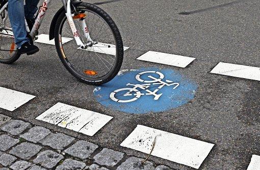 Neue Radroute nach Ditzingen