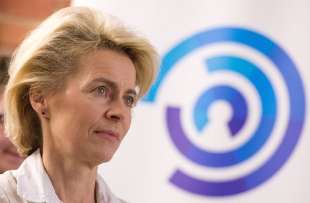Ursula von der Leyen will die Truppe fit für den Krieg der Zukunft  machen. Foto: dpa
