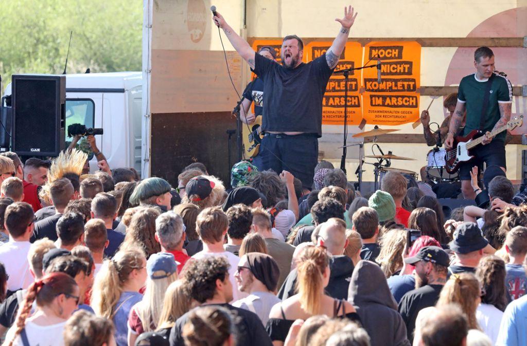 Für Punk-Fans spielen Feine Sahne Fischfilet. Foto: dpa