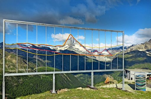 Projekt in den Alpen: Das Matterhorn als Plastikberg