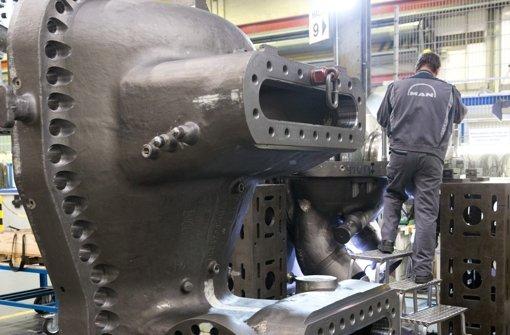 Belastungsprobe für  deutsche Maschinenbauer