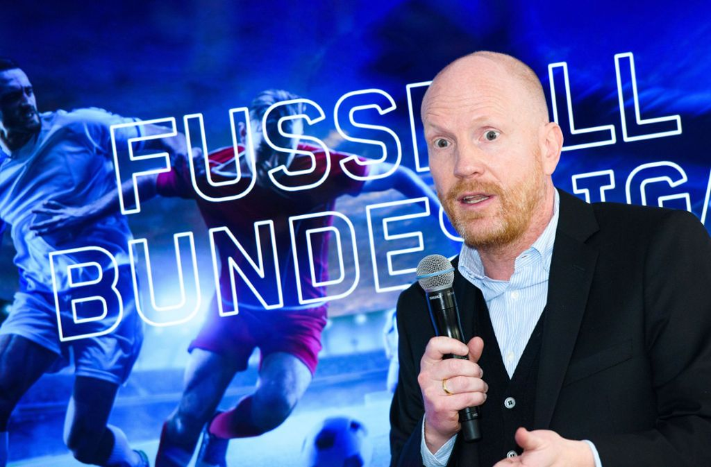 Ex-VfB-Trainer Matthias Sammer ist als Bundesliga-Experte für Eurosport im Einsatz. Foto: dpa