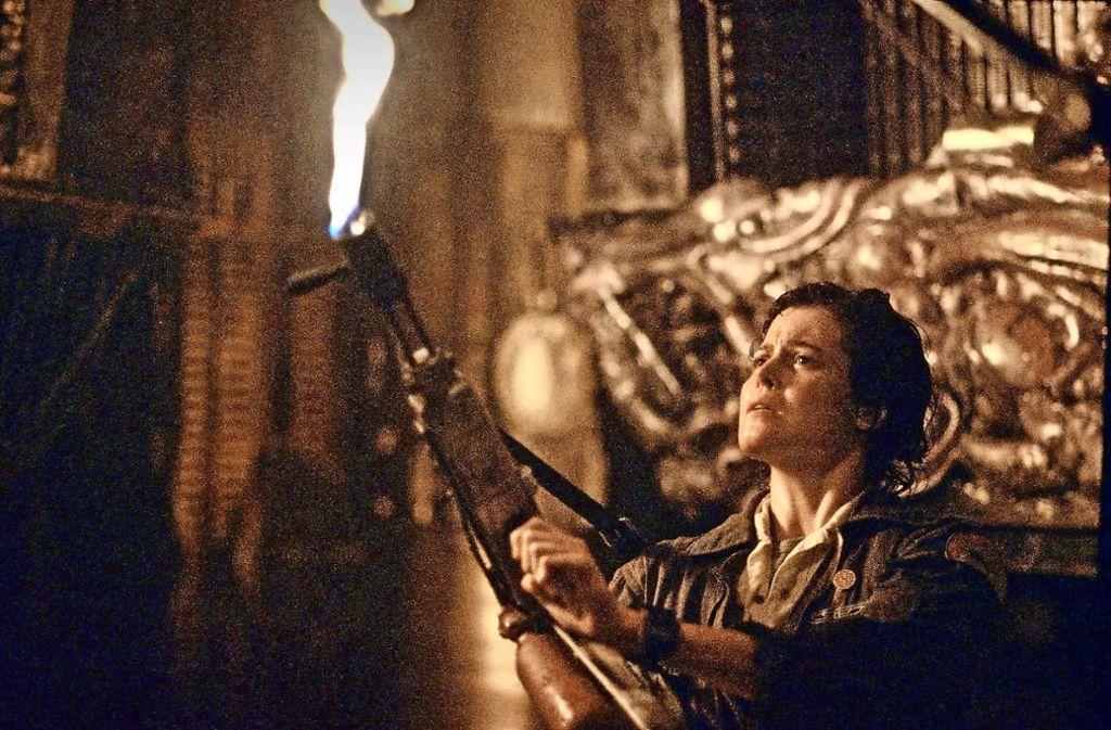 "Sigourney Weaver in ""Alien"" (1979) Foto: dpa"