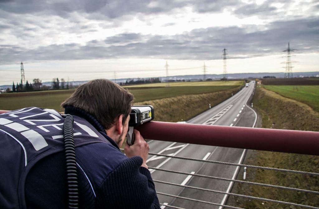 Kürzlich hat die Polizei kontrolliert – und keinen Temposünder erwischt. Foto: SDMG/Dettenmeyer