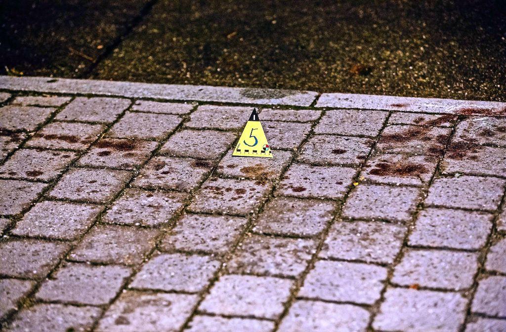 Drei Schüsse, zwei Verletzte und eine Blutspur unweit der Murrbrücke: Die Foto: 7aktuell