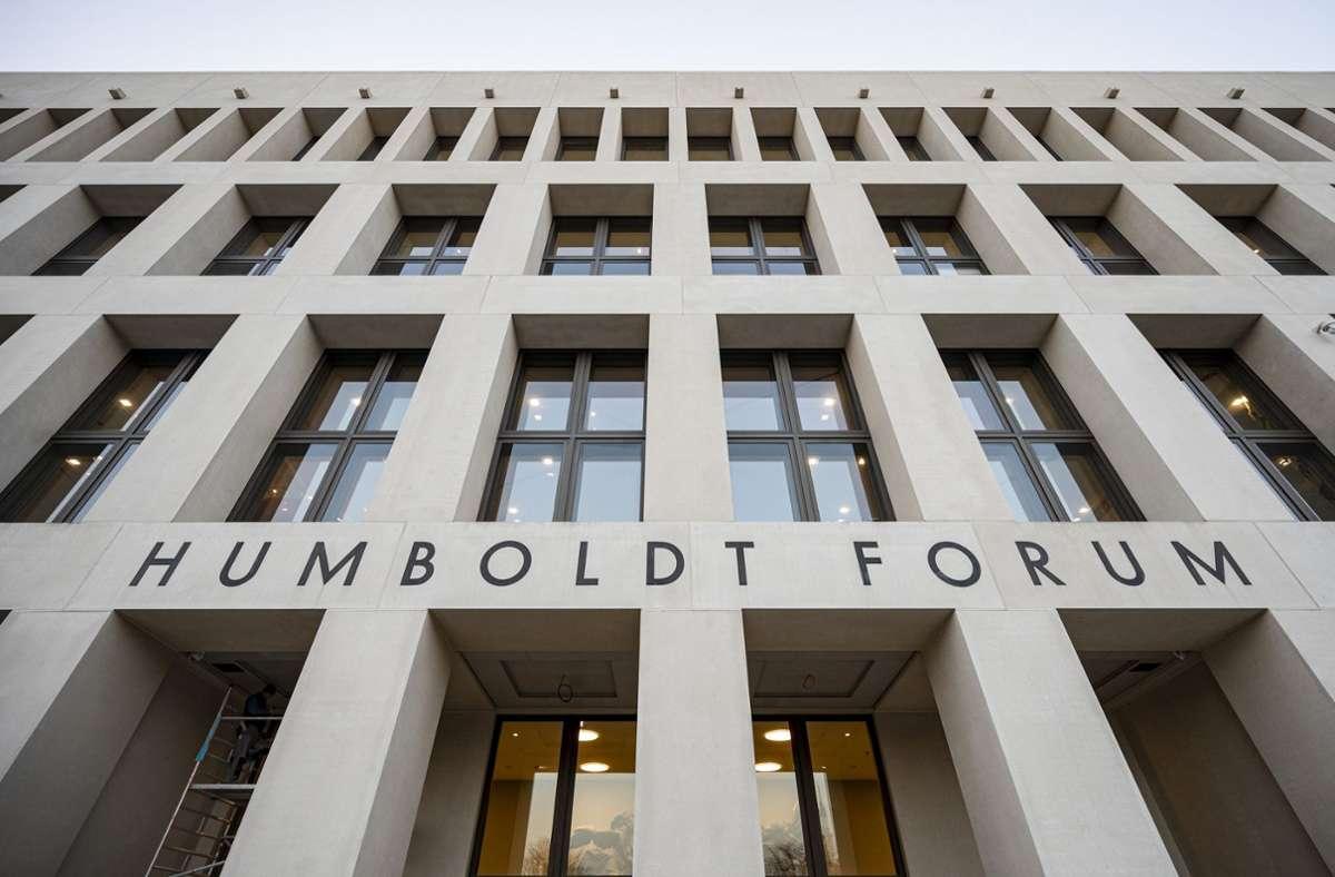 Das Humboldt Forum am Berliner Schlossplatz Foto: