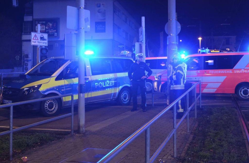 Der Unfall ereignet sich an der Haltestelle Gnesener Straße. Foto: 7aktuell.de/Frank Herlinger