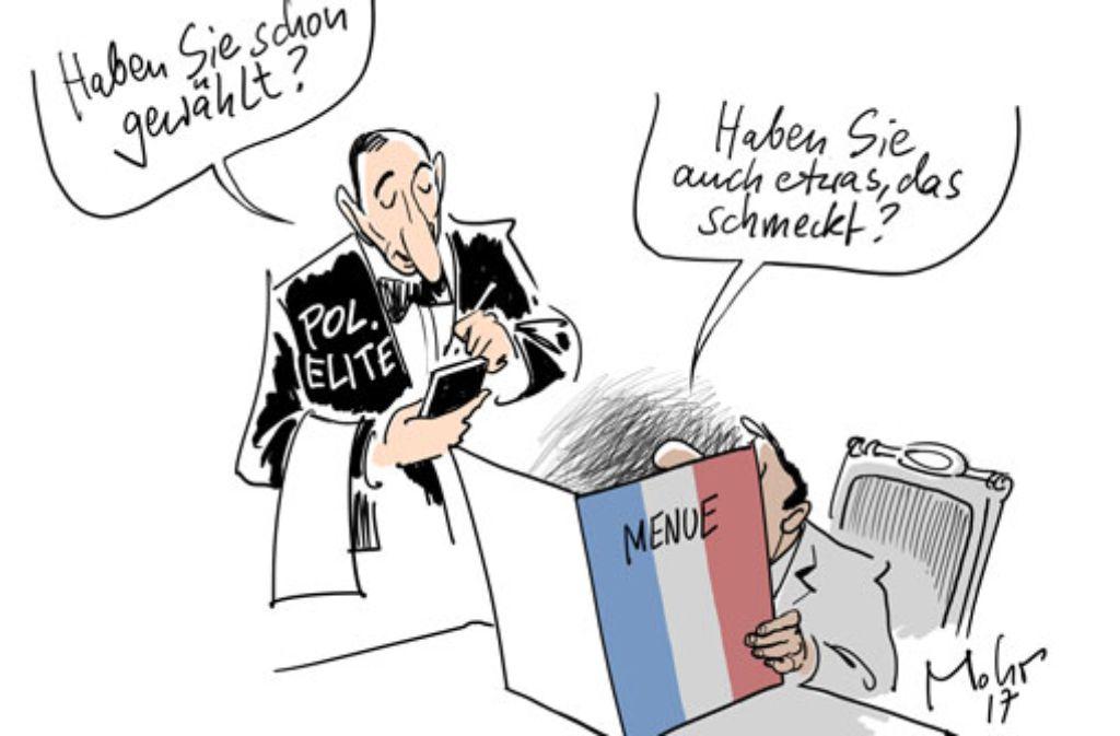 Französische küche comic  28. Dezember 2017 (Mohr): Duale Methode - Stuttgarter Zeitung