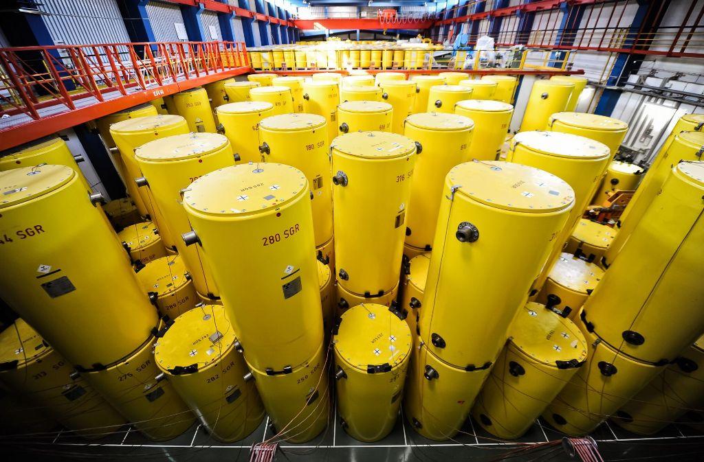 Wohin mit dem atommaren Müll und wer kommt für die Kosten auf? (Archivfoto) Foto: dpa