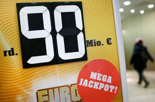 90 Millionen Euro gehen an einen Gewinner