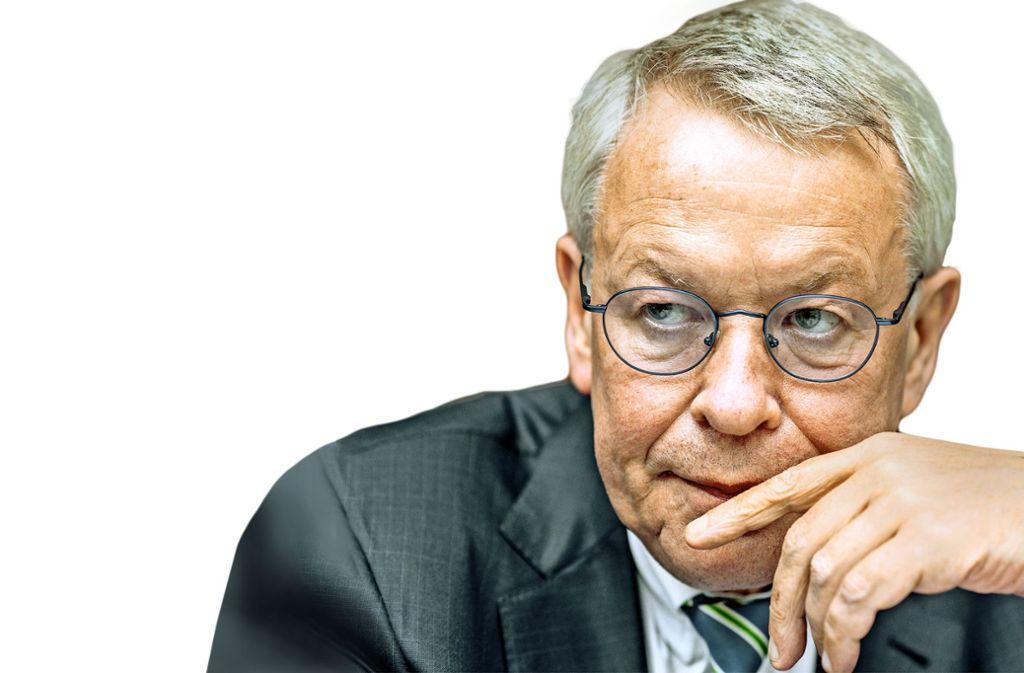 Der Anwalt Gerhard Strate gehört zur Champions League in seinem Beruf. Foto: dpa