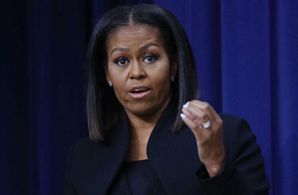 Bei einem Interview mit Oprah Winfrey zeigte sich Michelle Obama ungewohnt pessimistisch. Foto: AP