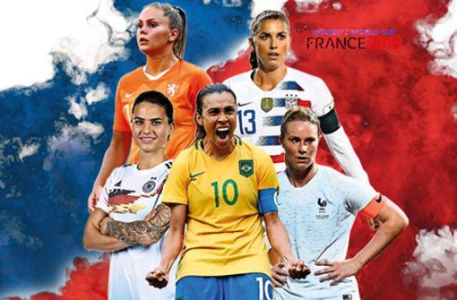 Das sind die Stars der Frauenfußball-WM