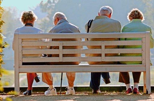 Langjährige Versicherte müssen sich auf niedrigere Auszahlungen einstellen. Foto: dpa