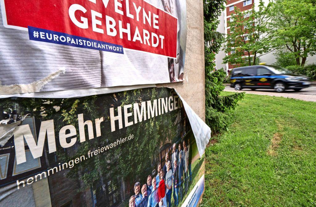 """Mehr politische Gruppierungen werden im neuen Hemminger Gemeinderat sitzen: """"Die Partei"""" hat am Sonntag erstmals einen Sitz errungen. Foto: factum/Andreas Weise"""