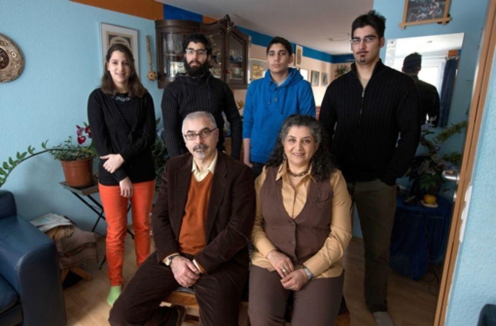 Familie Maqsudi fühlt sich in ihrer neuen Heimat Stuttgart wohl. Foto: Michael Steinert