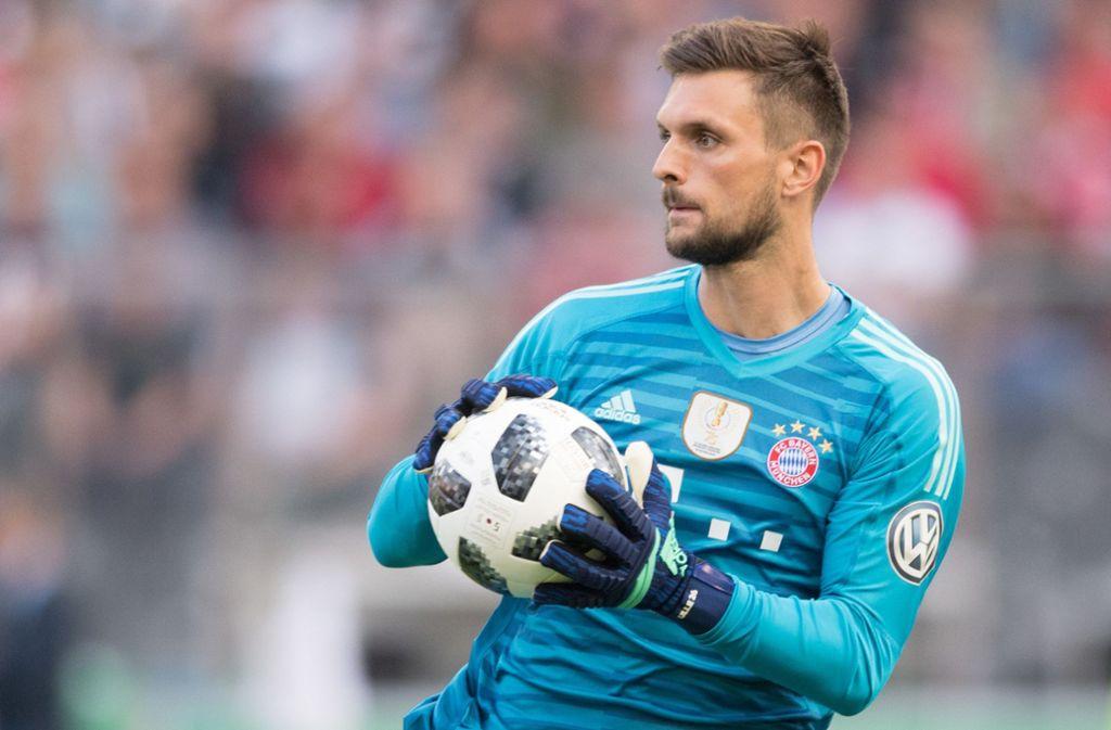Sven Ulreich steht seit Sommer 2015 beim FC Bayern unter Vertrag. Foto: dpa/Soeren Stache