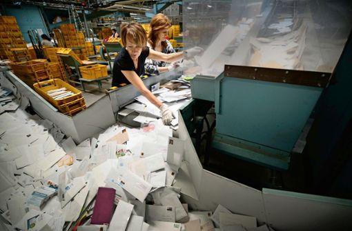 Nur noch an fünf Tagen Post?