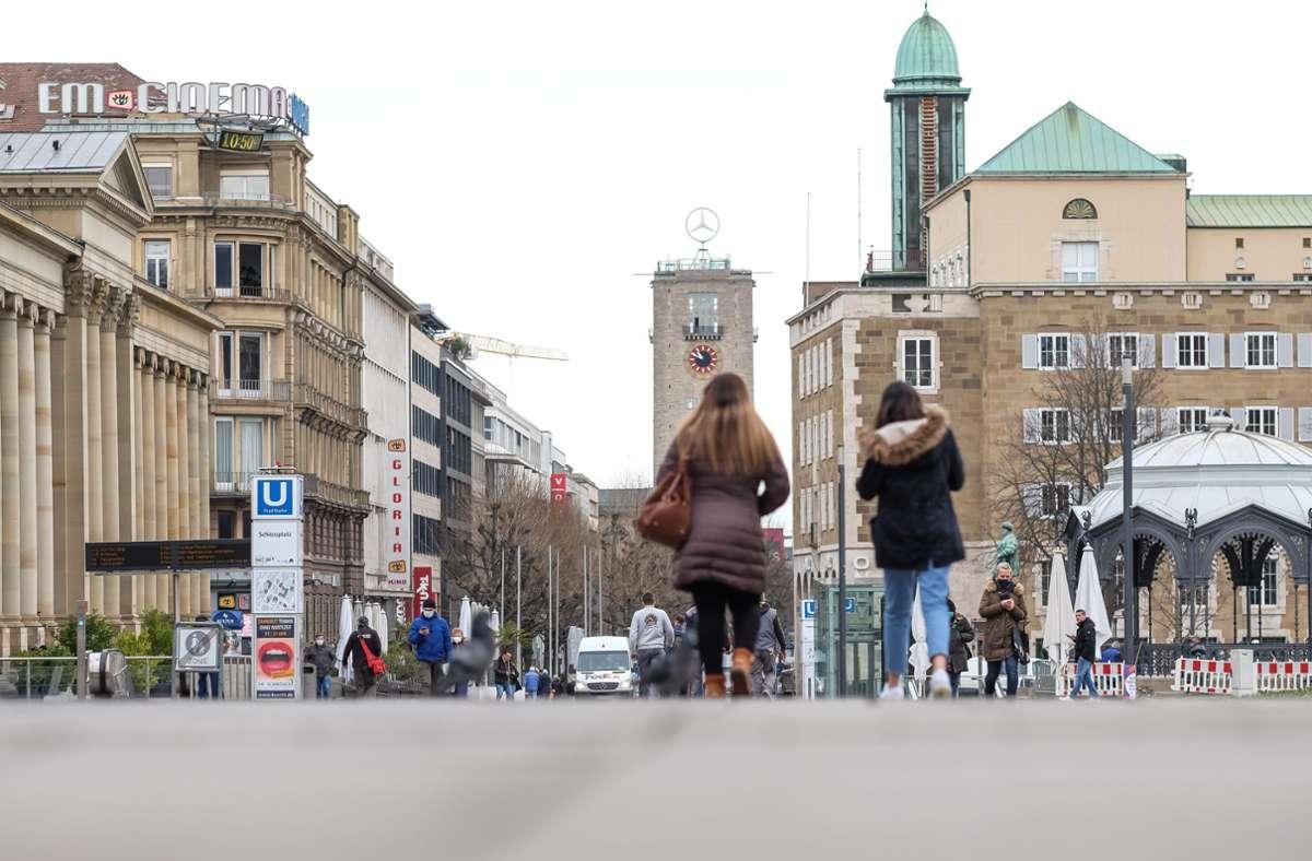 In Stuttgart lag die Sieben-Tage-Inzidenz am Donnerstag bei 131,3 (Archivbild). Foto: Lichtgut/Max Kovalenko
