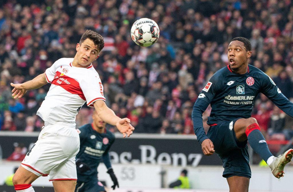 Doch am Ende zitterte sich Mainz zum Auswärtssieg. Foto: dpa