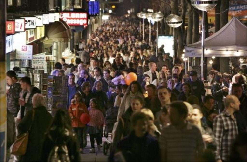Nach acht Jahren Rückgang sind es in Deutschland nun wieder mehr Menschen. Das hat das Statistische Bundesamt ermittelt. Quelle: Unbekannt
