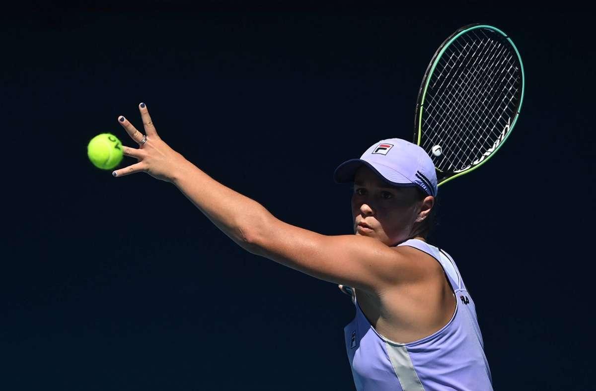 Auch die Weltranglisten-Erste Ashleigh Barty – hier bei den Australian Open –  will dabei sein. Foto: imago images/Paul Zimmer