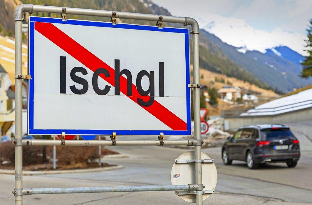 """""""Hotspot"""" wider Willen: Allein im österreichischen Skiort Ischgl sollen sich Tausende Menschen mit dem Coronavirus  infiziert haben. Foto: dpa/Jakob Gruber"""